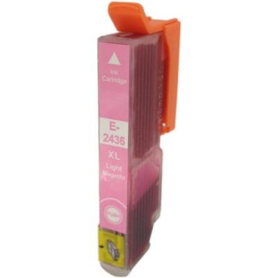 Epson T2436 XL light magenta compatible inkjet cartridge