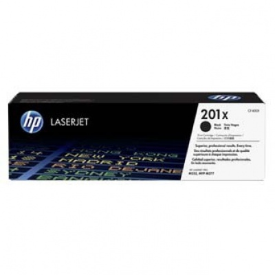 HP 201X CF400X black original toner
