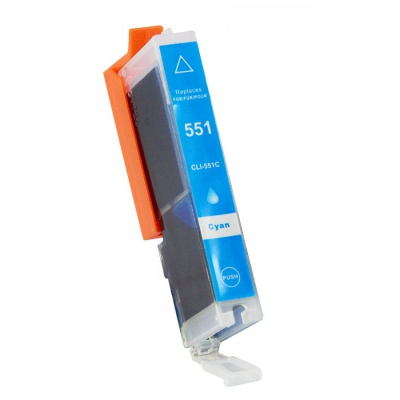 Canon CLI-551XL cyan compatible inkjet cartridge