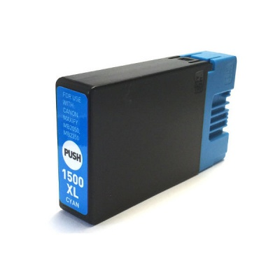 Canon PGI-1500XL cyan compatible inkjet cartridge