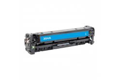 HP 304A CC531A cyan compatible toner