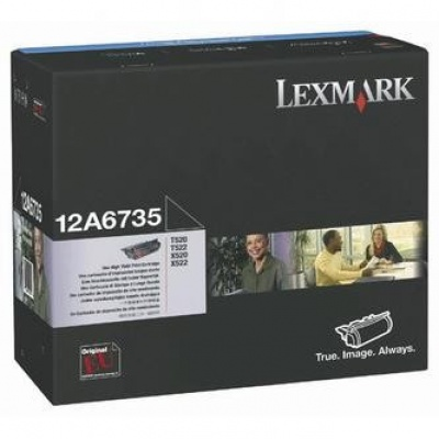 Lexmark 12A6735 black original toner