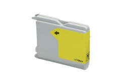 Brother LC-970 / LC-1000Y yellow compatible cartridge
