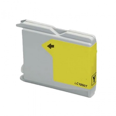 Brother LC-970 / LC-1000Y yellow compatible inkjet cartridge