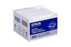 Epson C13S050651 black original toner