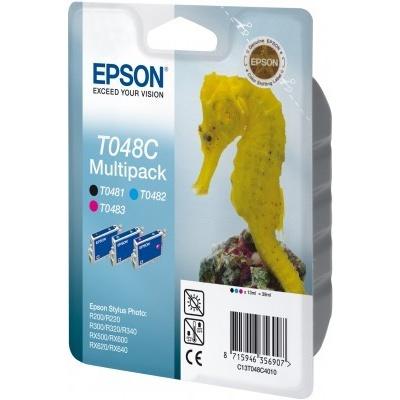 Epson C13T048C40 T048C multipack original ink cartridge