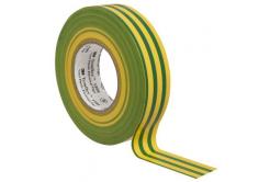 3M Temflex 1500 Elektroizolační páska, 15 mm x 10 m, zelenožlutá