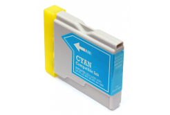 Brother LC-970 / LC-1000C cyan compatible inkjet cartridge