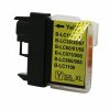 Brother LC-980/LC-985/LC-1100 yellow compatible inkjet cartridge