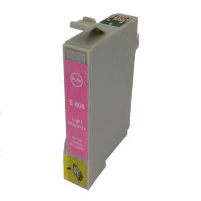 Epson T0806 light magenta compatible inkjet cartridge