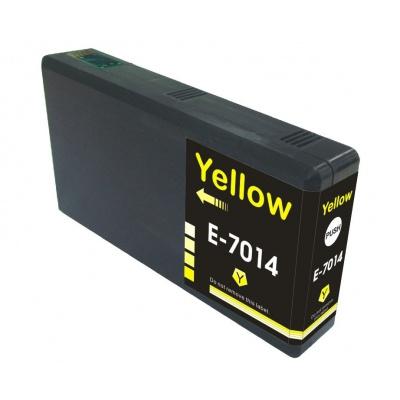 Epson T7014 yellow compatible inkjet cartridge