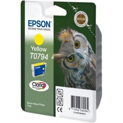 Epson C13T079440 yellow original ink cartridge