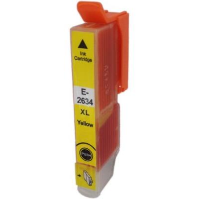 Epson T2634 XL yellow compatible inkjet cartridge