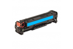 HP CE741A cyan compatible toner