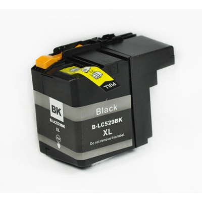 Brother LC-529XL black compatible inkjet cartridge