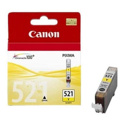 Canon CLI-521Y yellow original ink cartridge