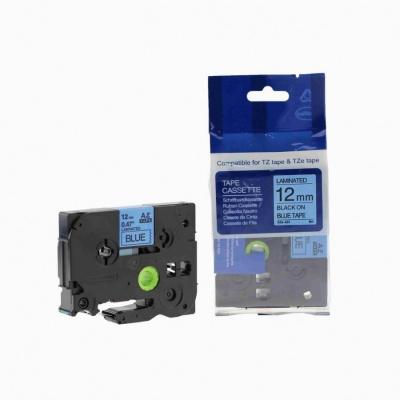 Brother TZ-531 / TZe-531, 12mm x 8m, black / blue, compatible tape