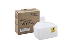 Kyocera original waste box WT-590, 15000 pages, 302KV93110, Kyocera FS-C2026MFP/C2126MFP/C2626MFP, P6021cdn/P6026cdn