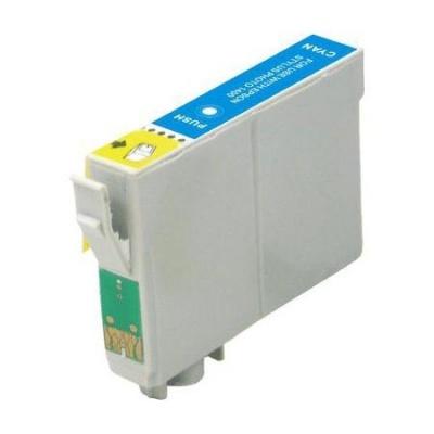 Epson T0612 cyan compatible inkjet cartridge