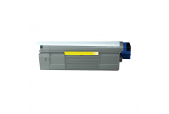 OKI 43865721 for C5850, C5950, MC560 yellow compatible toner