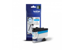 Brother original ink cartridge LC-3237C, cyan, 1500 pages, Brother MFC-J5945DW, MFC-J6945DW, MFC-J6947DW