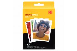 "Kodak RODZL3X410 samolepicí fotopapír ZINK 76x100 mm (3x4"") 10 listů, bílý, 290g/m2 termo"