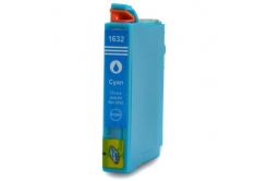 Epson T1632 XL cyan compatible inkjet cartridge