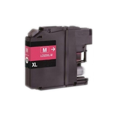 Brother LC-525XL magenta compatible inkjet cartridge
