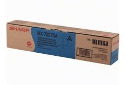 Sharp MX-70GTCA cyan original toner