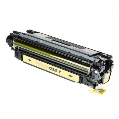 HP 646A CF032A yellow compatible toner