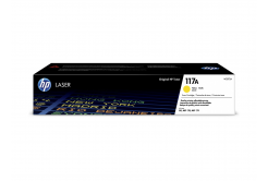 HP 117A W2072A yellow original toner