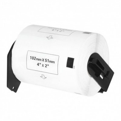 Brother DK-11240, 102mm x 51mm, roll, compatible labels