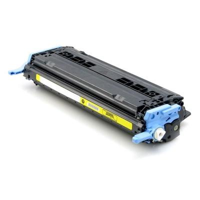 HP 124A Q6002A yellow compatible toner