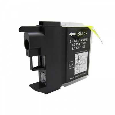 Brother LC-980/LC-985/LC-1100 black compatible inkjet cartridge