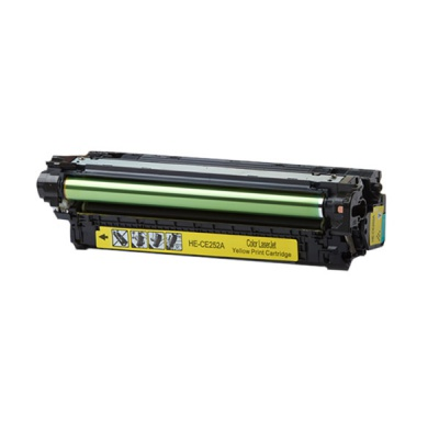 HP 504A CE252A yellow compatible toner