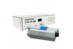 Toshiba TFC26SK, 6B000000559 black original toner