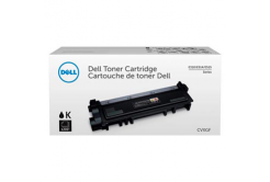 Dell 593-BBLR, CVXGF black original toner