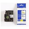 Brother TZ-S261 / TZe-S261, 36mm x 8m, black text/white tape, original tape