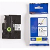 Brother TZ-FX231 / TZe-FX231, 12mm x 8m, black text/white tape, original tape
