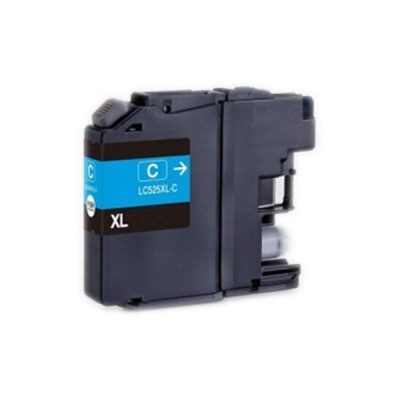Brother LC-525XL cyan compatible inkjet cartridge