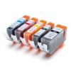 Canon CLI-521 Bk, C,M,Y + PGI-520Bk multipack compatible inkjet cartridge