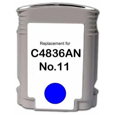 HP 11 C4836A cyan compatible inkjet cartridge