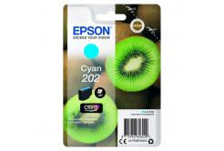 Epson original ink cartridge C13T02F24010, 202, cyan, 1x4.1ml, Epson XP-6000, XP-6005