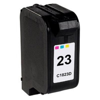 HP 23 C1823D color compatible inkjet cartridge