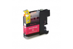Brother LC-125XL/LC-127XL magenta compatible inkjet cartridge