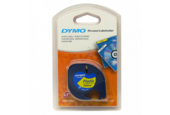 Dymo LetraTag 59423, S0721570, 12mm x 4m, black text/yellow tape, original tape