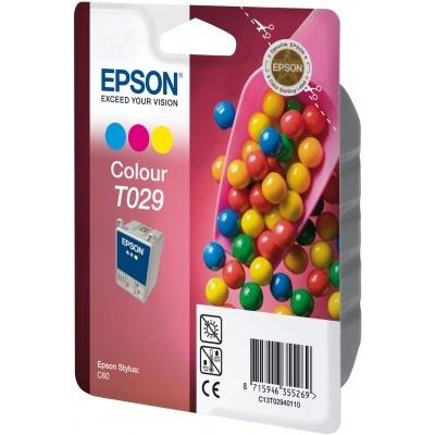 Epson C13T029401 color original ink cartridge