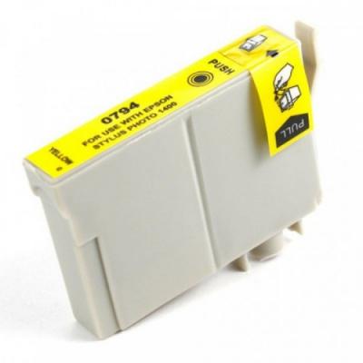 Epson T0794 yellow compatible inkjet cartridge