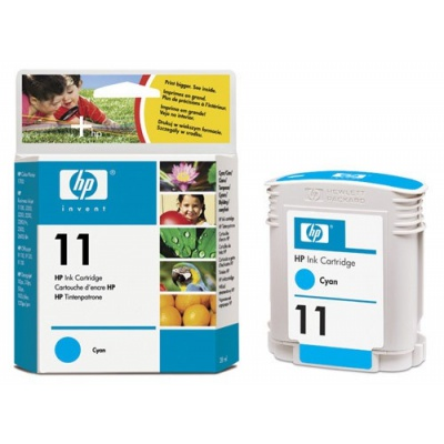 HP 11 C4836AE cyan original ink cartridge