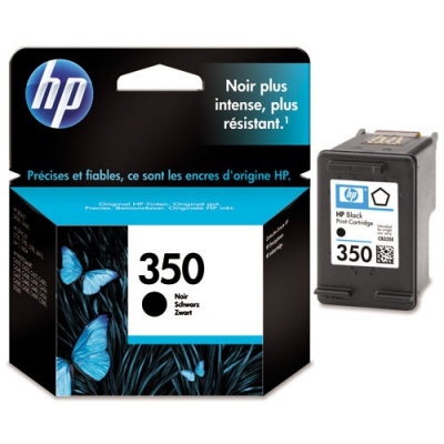 HP 350 CB335EE black original ink cartridge